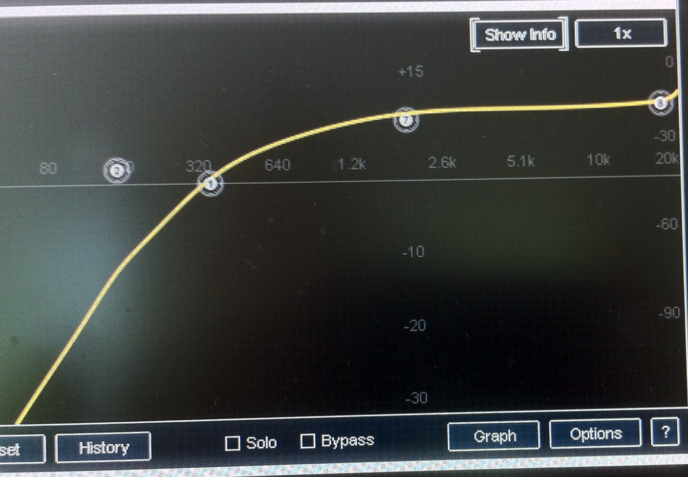 Project Studio Jonymac The Guitar Wiring Blog Diagrams And Tips Telecaster Directthrough Heres Eq Curve He Likes Whew You Can Hear It Audio Clip Linked Below